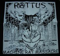 RATTUS - Machine Rat Massacre - Back Patch