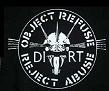 DIRT - Object Refuse - Back Patch