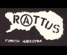 RATTUS - Finnish Hardcore - Patch