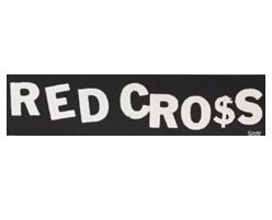 Red Cross - Sticker