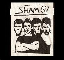 SHAM 69 - Band - Patch