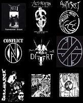 Crust punk shirts