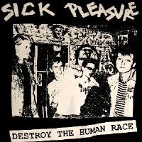 SICK PLEASURE - Destroy - Back Patch