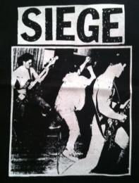 SIEGE - Band - Back Patch