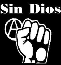 Sin Dios - Anarchy - Sticker