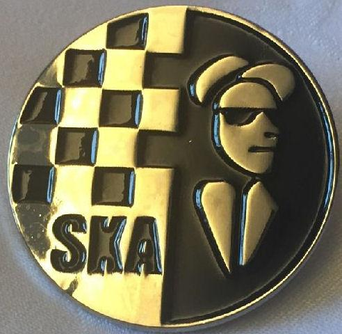 Ska - Metal Badge