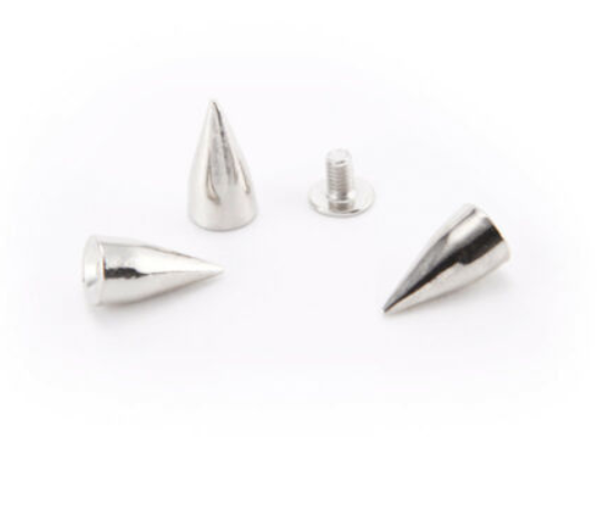 Small Cone 15mm Screw Back - Bag of 100