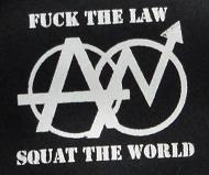 SQUAT THE WORLD - Patch