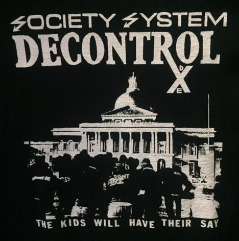 SS DECONTROL - The Kids - Back Patch