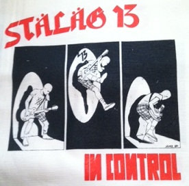STALAG 13 - In Control - Back Patch