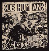SUBHUMANS - Evolution - Patch