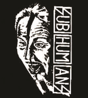 Subhumans - Face - Button