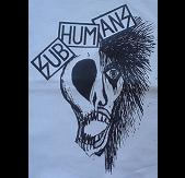 SUBHUMANS - Skull Face - Back Patch