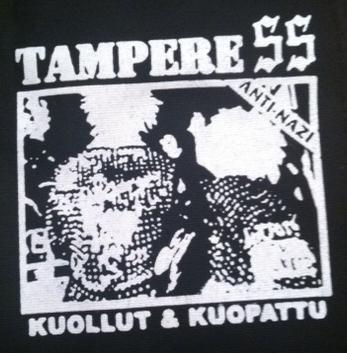 TAMPERE SS - Kuollut & Kuopattu - Patch