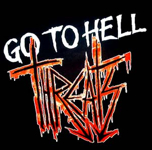 Threats - Go To Hell - Shirt