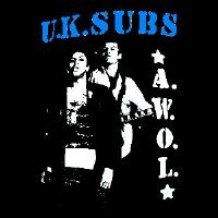 U.K. SUBS - AWOL - Back Patch
