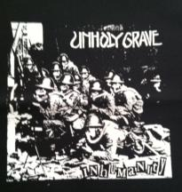UNHOLY GRAVE - Inhumanity - Back Patch