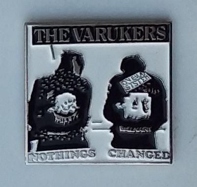 Varukers - Metal Badge