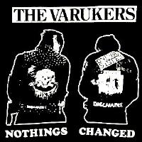 Varukers - Nothings Changed - Shirt
