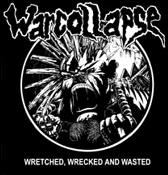 WARCOLLAPSE - Wretched - Back Patch