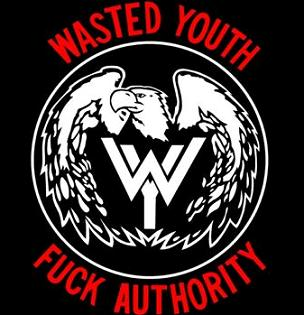 Wasted Youth - Fuck Authority - Shirt