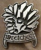 Wretched - Metal Badge