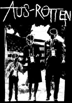 AUS-ROTTEN - Family Gas Mask - Back Patch