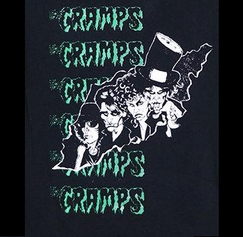 CRAMPS - Top Hat - Back Patch