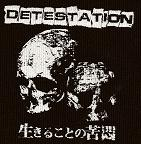 DETESTATION - Skulls - Patch