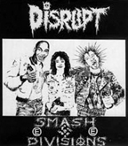 Disrupt - Smash Divisions - Hooded Sweatshirt