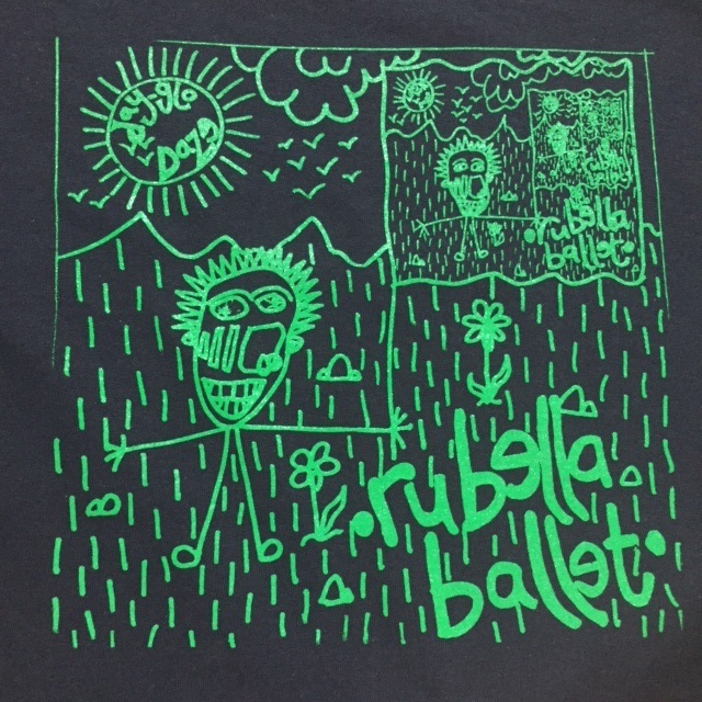 RUBELLA BALLET - Back Patch
