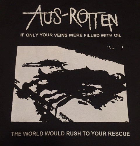 AUS ROTTEN - Oil - Back Patch