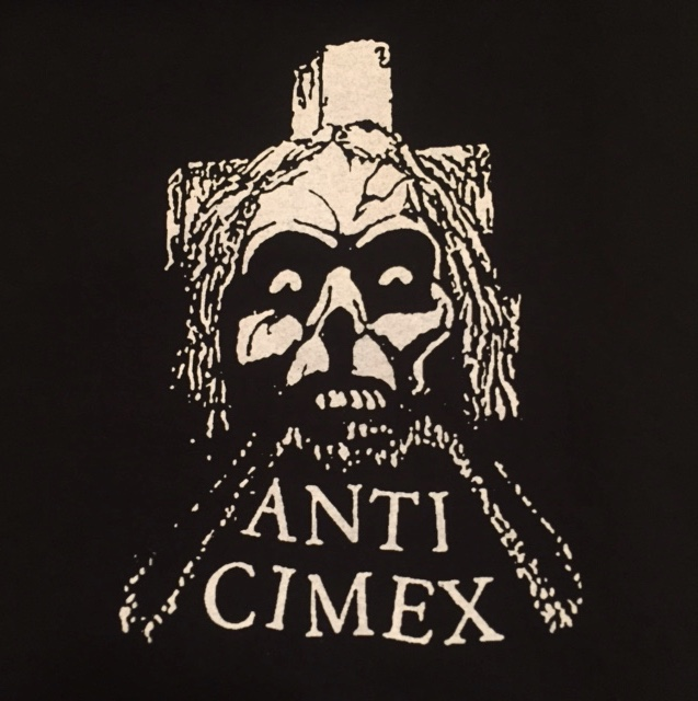 ANTI CIMEX - Skull Cross - Back Patch
