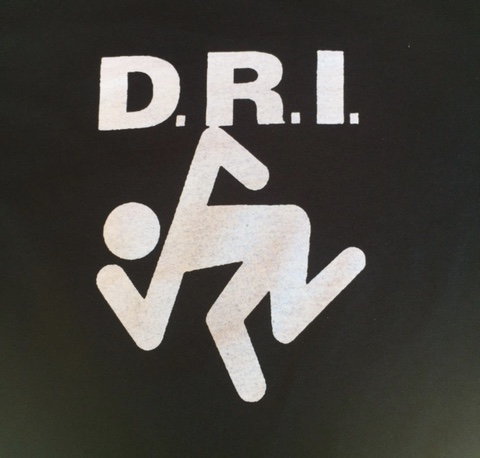 D.R.I. - Dancing - Back Patch