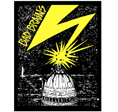 BAD BRAINS - Capitol - Back Patch