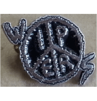 Wipers - Metal Badge