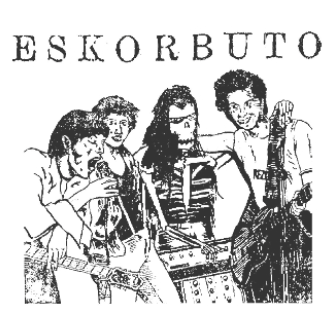 ESKORBUTO - Band - Patch