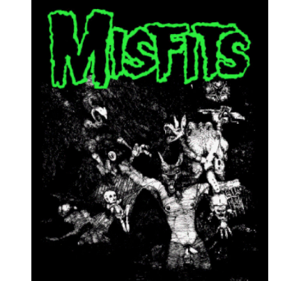 MISFITS - Wolf - Back Patch