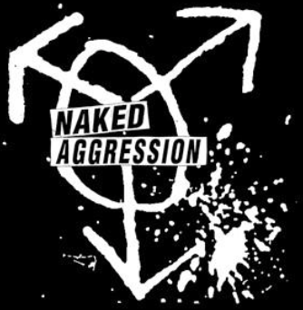 NAKED AGGRESSION - Back Patch