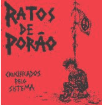 RATOS DE PORAO - Red - Back Patch