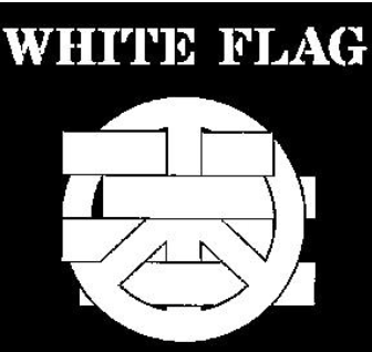 WHITE FLAG - Logo - Back Patch