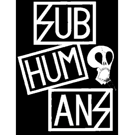 SUBHUMANS - Logo - Back Patch