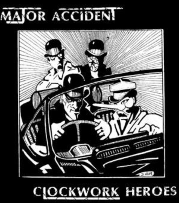 MAJOR ACCIDENT - Clockwork Heroes - Back Patch