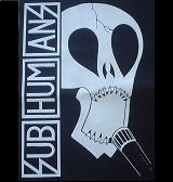 SUBHUMANS - Skull - Back Patch