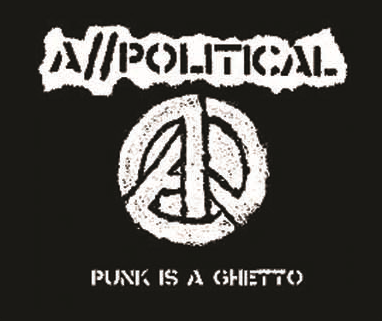 A//POLITICAL - Ghetto - Back Patch