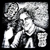 ABORTED - I Don't Want Your Life - Back Patch