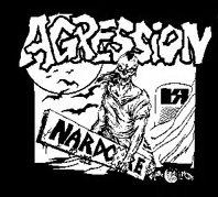AGRESSION - Nardcore - Back Patch