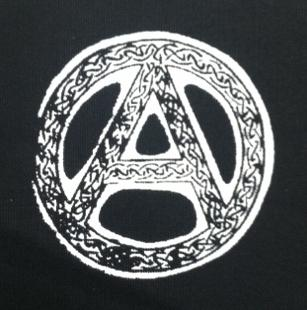 ANARCHY SYMBOL - Celtic - Patch