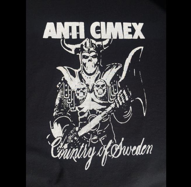 ANTI CIMEX - Sweden - Back Patch