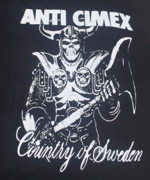 Anti Cimex - Country of Sweden - Shirt